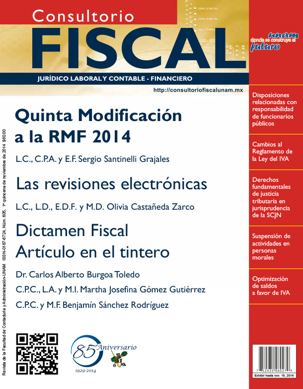 Quinta Resolución de Modificaciones a la RMF 2014
